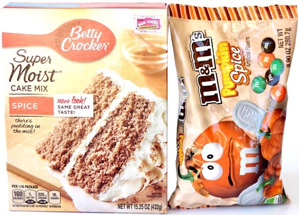 Pumpkin Spice Cake Mix Cookies