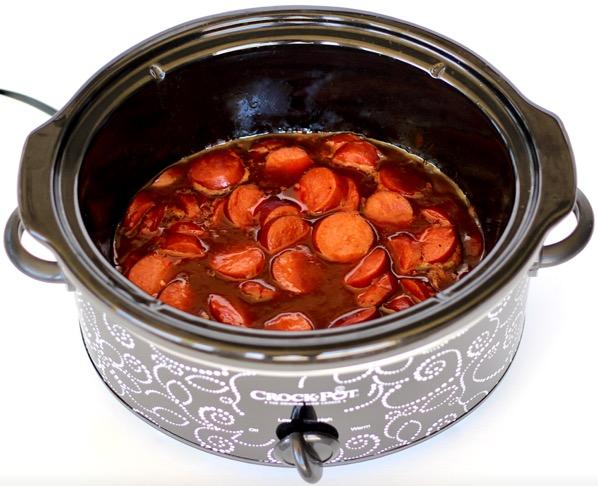 BBQ Kielbasa Crockpot Recipe