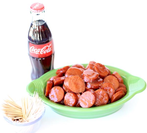 Crockpot BBQ Coca Cola Kielbasa Recipe