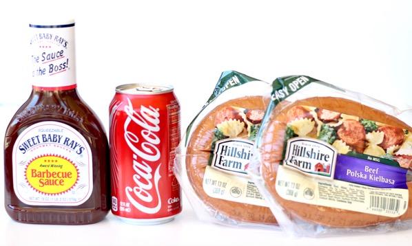 Crockpot Barbecue Kielbasa Recipe with Coke