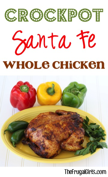 Crockpot Southwest Chicken Recipe from TheFrugalGirls.com
