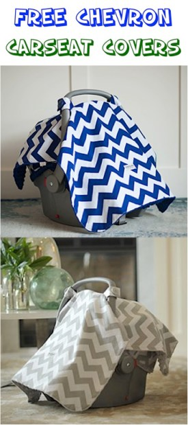 FREE Chevron Carseat Covers