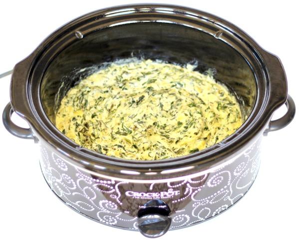 Best Crockpot Spinach Artichoke Dip Recipe