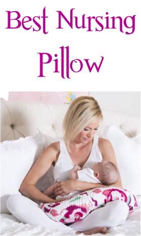Best Nursing Pillow for Babies at TheFrugalGirls.com