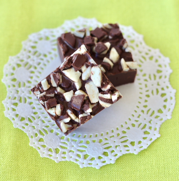 Easy Andes Mint Fudge Recipe
