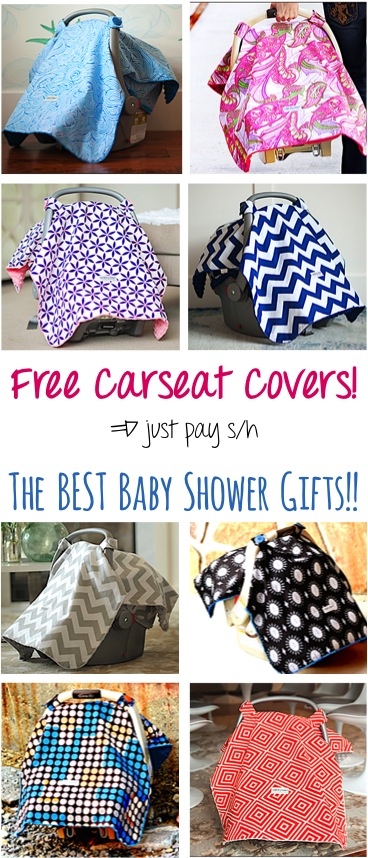 Free Carseat Canopy | TheFrugalGirls.com