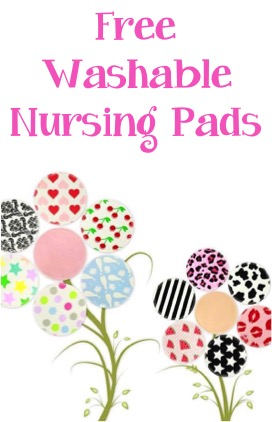 Free Washable Nursing Pads at TheFrugalGirls.com