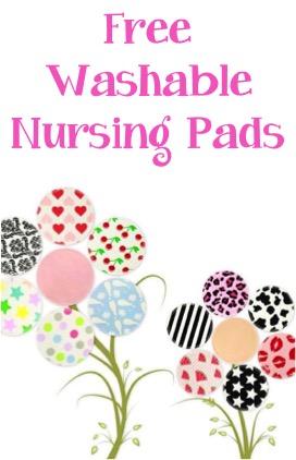 Free Washable Nursing Pads at TheFrugalGirls.com