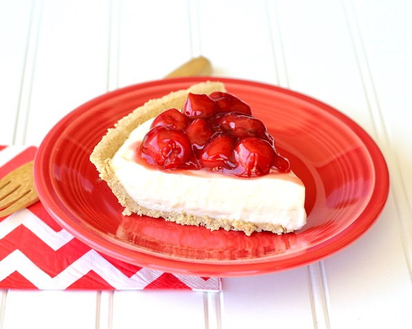 No Bake Cherry Cream Cheese Pie Recipe