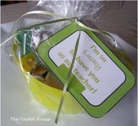 St. Patrick's Day 'Pot of Gold' Teacher Gift Idea