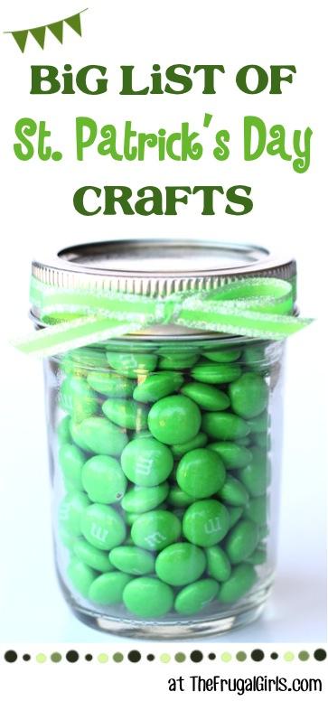 St. Patricks Day Crafts at TheFrugalGirls.com