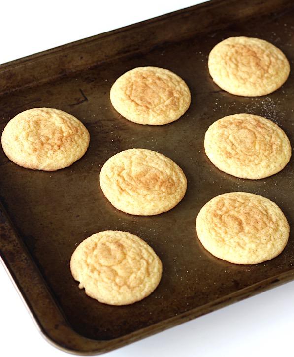 Yellow Cake Mix Snickerdoodle Cookies Recipe Easy