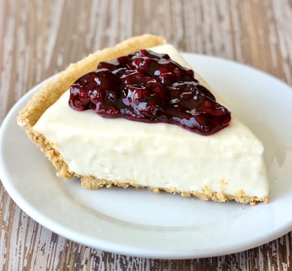 Blackberry Cream Cheese Pie Recipe