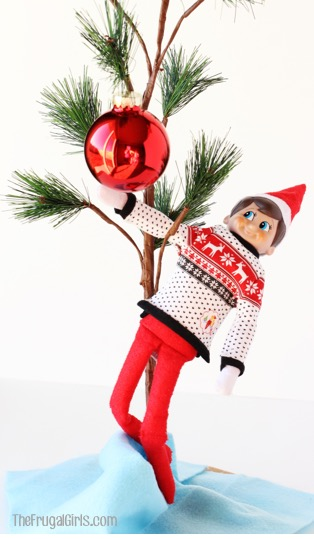 elf-on-the-shelf-christmas-tree-ideas-at-thefrugalgirls-com