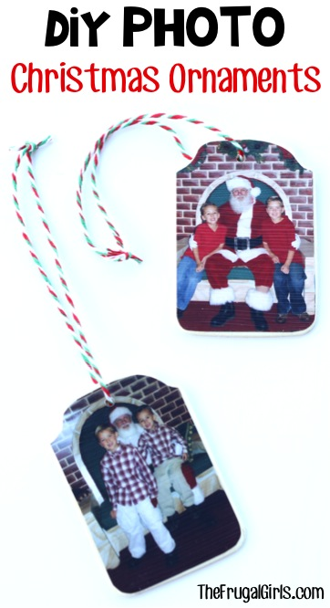 Photo Christmas Ornaments from TheFrugalGirls.com