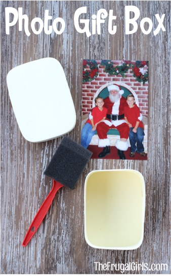 DIY Photo Gift Boxes