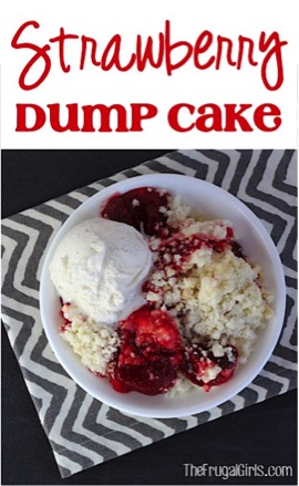 Strawberry Dump Cake Recipe