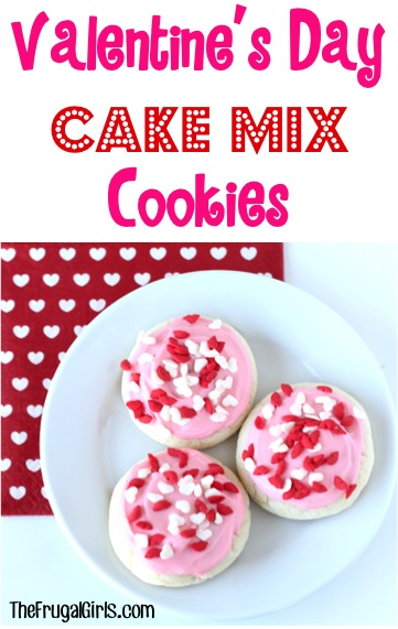 Valentine's Day Cookies Recipe from TheFrugalGirls.com