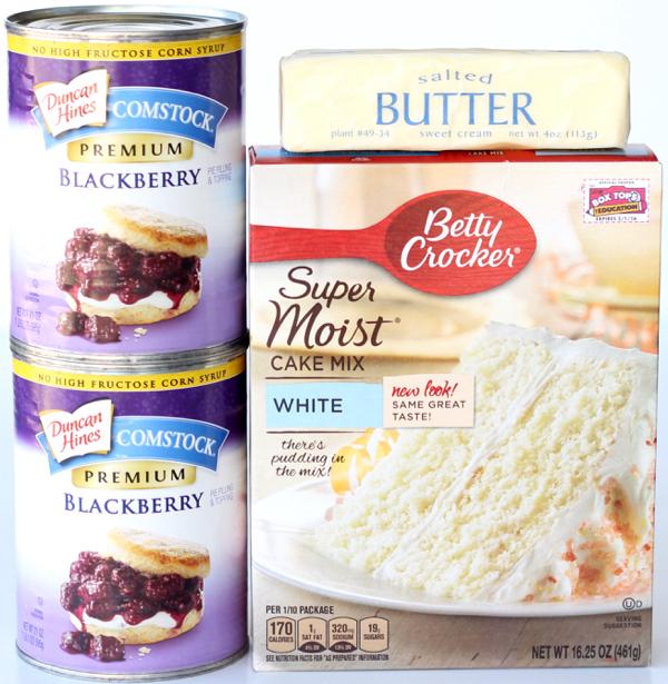 Crockpot Blackberry Dump Cake Recipe | TheFrugalGirls.com