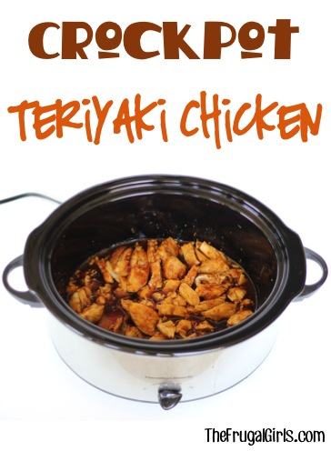 Crockpot Teriyaki Chicken Recipe - from TheFrugalGirls.com