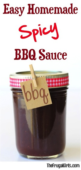 Easy Homemade Spicy BBQ Sauce Recipe