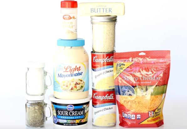 Chicken Cheese Veggie Casserole Recipe