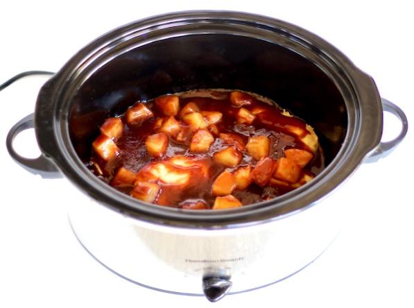 Crockpot Hawaiian Barbecue Chicken Recipe
