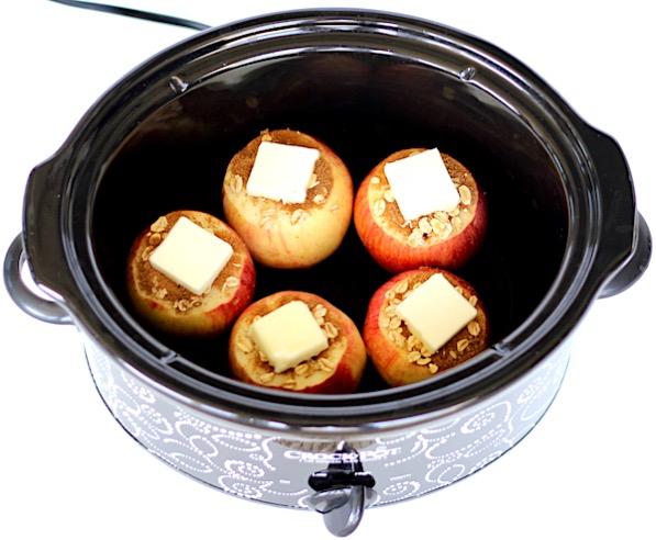 Crockpot Baked Apples Recipe Easy