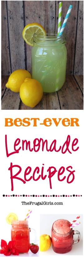 11 Lemonade Recipes to Make This Summer from TheFrugalGirls.com