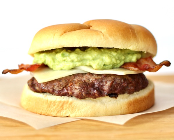 Bacon Guacamole Burger Recipe