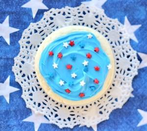 Patriotic Cake Mix Cookies Recipe