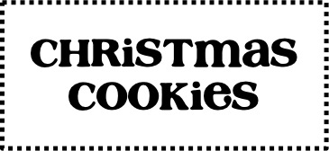 Christmas Cookie Recipes from TheFrugalGirls.com