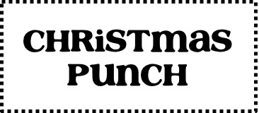 Christmas Punch Recipes Easy Holiday Punches button