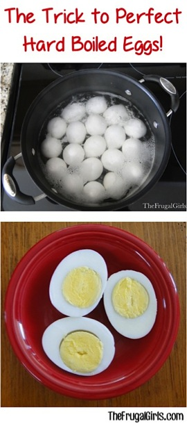 Perfect Hard-Boiled Eggs Trick
