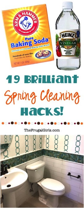 Brilliant Spring Cleaning Hacks