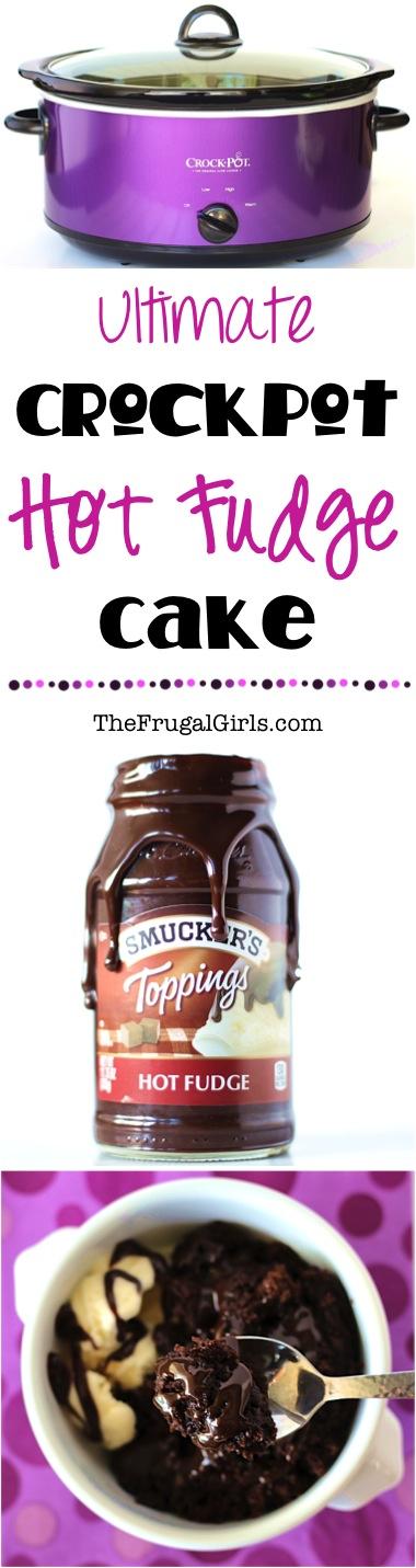 Crockpot Hot Fudge Cake Recipe - at TheFrugalGirls.com