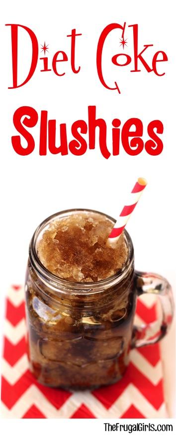 Diet Coke Slushies Recipe - at TheFrugalGirls.com