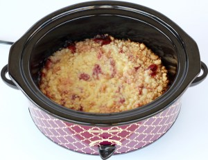 Crockpot Cherry Dump Cake Recipe