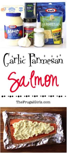 Grilled Garlic Salmon Recipe
