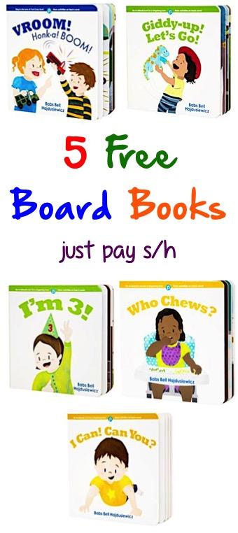 5 Free Baby Board Books