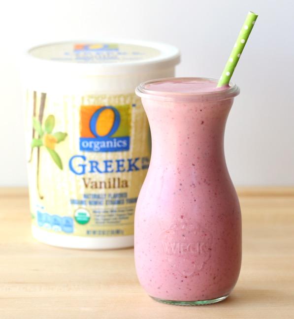 Organic Berry Smoothie Recipe