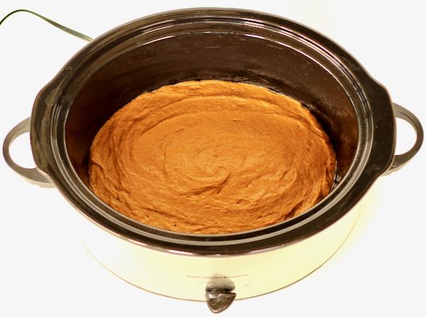 Slow Cooker Pumpkin Spice Cake Recipe