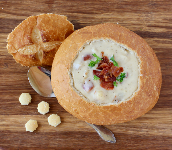Crock Pot Clam Chowder Easy Recipe