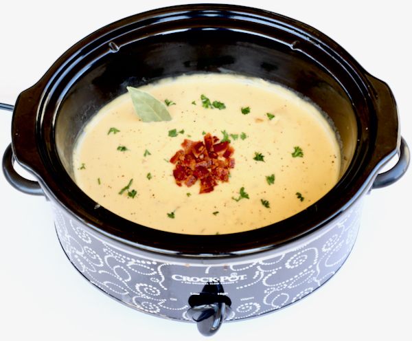 Crockpot Clam Chowder Recipe
