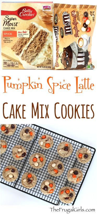 Pumpkin Spice Latte Cookies Recipe at TheFrugalGirls.com
