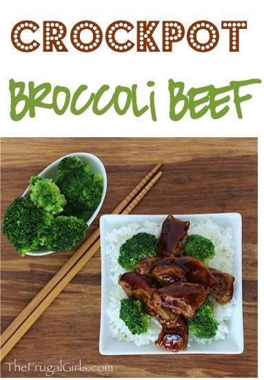 Crockpot Broccoli Beef Recipe from TheFrugalGirls.com