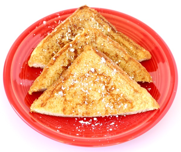 Eggnog French Toast with Texas Toast
