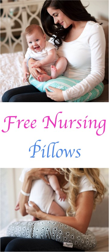 FREE Nursing Pillow  24 more Freebies for Babies