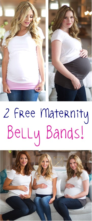 FREE Pregnancy Belly Bands at TheFrugalGirls.com
