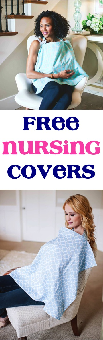 Free Nursing Cover at TheFrugalGirls.com